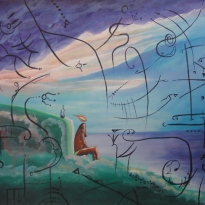 "Acrylic on canvas. 20""x 24"" year:2007."